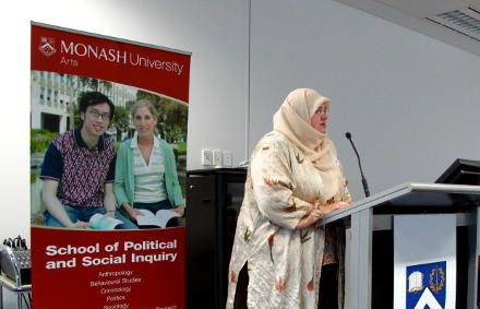 Rachel Woodlock at Monash University.